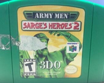Army Men: Sarge's Heroes 2 (Nintendo 64)