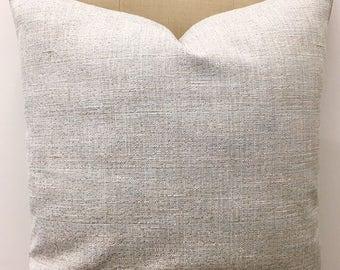 Cream Linen Pillow Cover, Linen Pillow, Boho Linen Cushion, Decorative Pillow, Rustic Pillow, Throw Pillow, Cream Linen Couch Pillow Covers