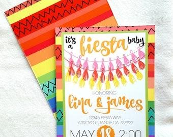 Fiesta Baby Shower Invitation . Cinco De Mayo Baby Shower . Fiesta Baby  Sprinkle . Mexican