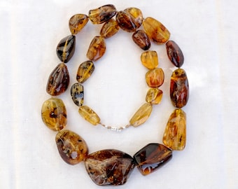 The Mexico - Dulces honey amber necklace