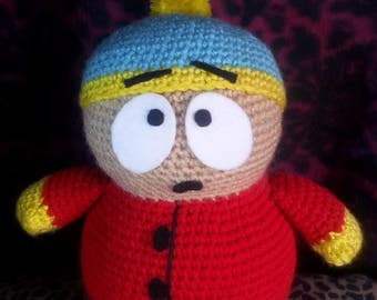 South Park Eric Cartman Amigurumi