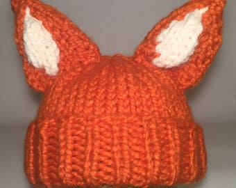 Adult fox hat