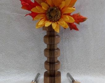 Flower vase/ Wood flower vase/ Perfect gift