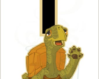 T is for Turtle : Animal Alphabet