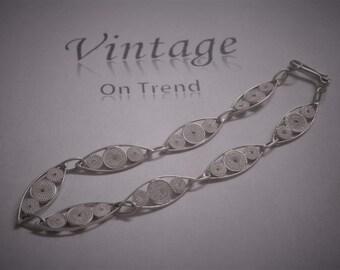 Vintage Filigree style bracelet