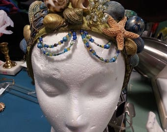 Sea Mermaid Renaissance style headpiece