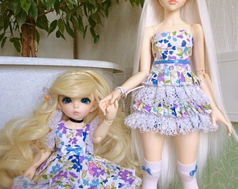 Clothes for BJD dolls Littlefee and Minifee (Doublesuit)