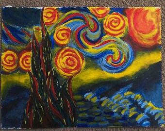 Angered Van Gogh - Original piece