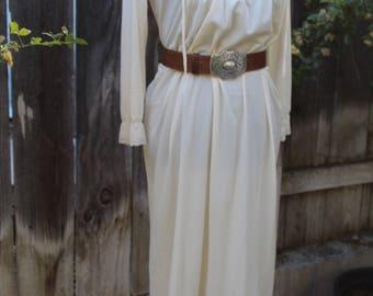 Vintage Prairie Bohemian Dress