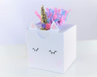 Unicorn Party, Unicorn Decoration,Favor Boxes,Baby shower,First birthday,Unicorn wedding,Bridal shower,Unicorn theme,Unicorn favor box