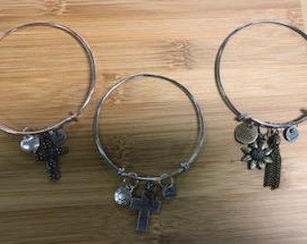 Metal, Retractable, Slide Bracelet