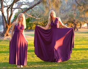 Formal Convertible Wrap Dress Ballgown