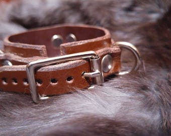 Mini daywear bdsm cuff/collar