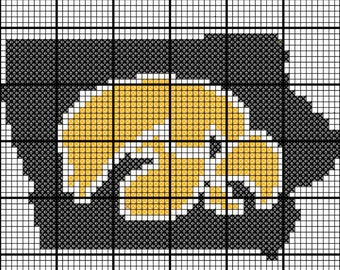 Iowa hawkeyes pattern