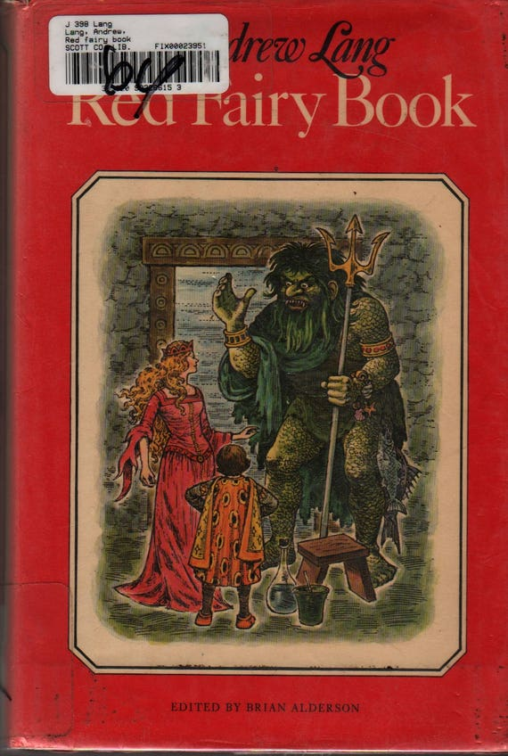 Red Fairy Book - Andrew Lang - Faith Jaques - 1976 - Vintage Kids Book
