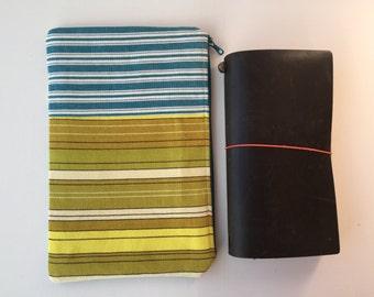 Traveler's Notebook Bag - Midori - Midori Traveler's Notebook Bag - TN bag - TN Pouch - Journal Bag - Personal Planner - Chic Sparrow