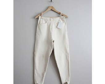 stirrup pants | equestrian pants | white stretch pants