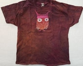 XL Unisex The Owl in the Pussy Hat Batik extra large