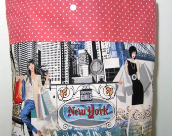 New York Travel Tote Shopping Tote Bag Beach Bag Shopping Girls Tote Bag Student Tote Teacher Tote