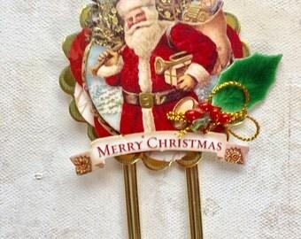 Santa Jumbo Paperclip