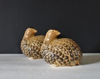 Vintage Quail / Ceramic Quail / Ceramic Animal / Vintage Bird / Housewarming Gift / Wedding Gift / Bird / Quail