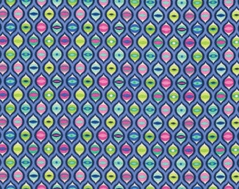 Tula Pink Tabby Road Cat Eyes Blue Bird Freespirit Fabric 1 yard
