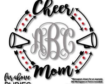 Cheer mom svg | Etsy