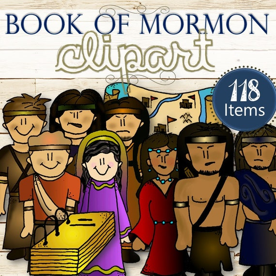 Clipart for Entire Book of Mormon Stories INSTANT DOWNLOAD