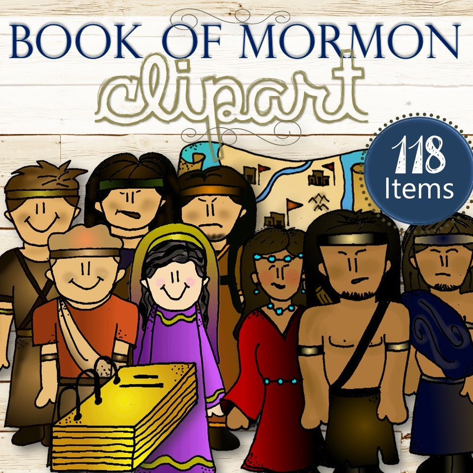 clipart of the book of mormon - photo #9