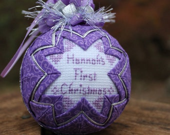 Keepsake Baby's First Christmas ornament