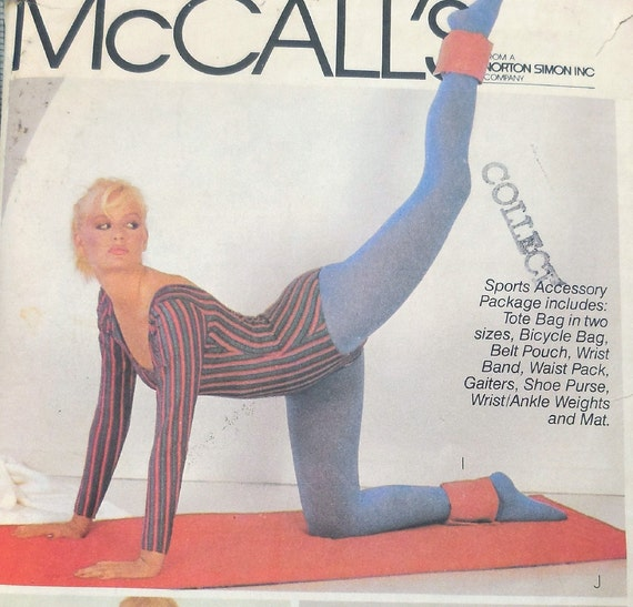 McCall's 8365 Totally 80s Aerobics & Sporty Gift Ideas