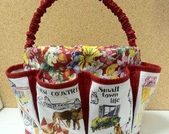 Jitter Bucket 5 Quart Upcycled Bucket Organizer | Sewing Pattern |