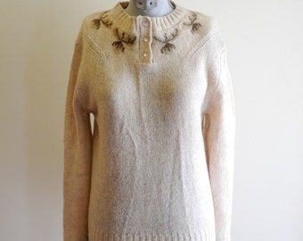 Nordic wool ACORN sweater sz. 36 Small / Medium