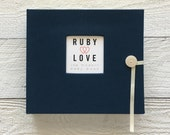 Solid Navy | BABY BOOK