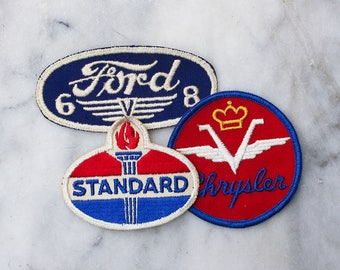 One Vintage 1970's Uniform Patch / Jacket Patch / Ford / Chrysler / Standard Oil