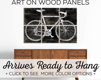 Large Bicycle Artwork for Sale - Our Road Bike Wall Art comes in a variety of options!