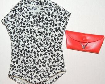1962 Barbie Cotton Blouse, Purse and Fashion Pak Hanger