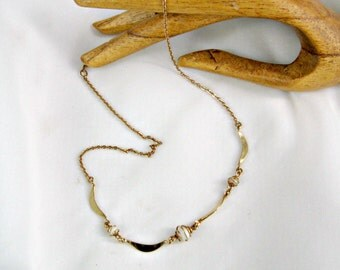 Sarah Coventry Necklace Gentle Moods Vintage 70s Jewelry Faux Pearls