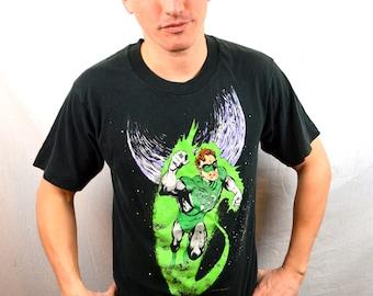 Vintage 90s Vintage 1990s Green Lantern DC Comics Originals T-Shirt Tee Shirt