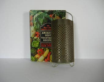 Nice Vintage Grater Cheese Veggies Kitchen Decor