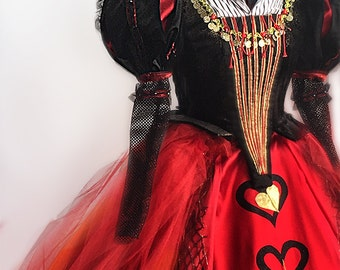 Red Queen from Alice Through the Looking Glass – Adult Iracebeth Red Queen Costume , Queen of Hearts, Alice Through the Looking Glass