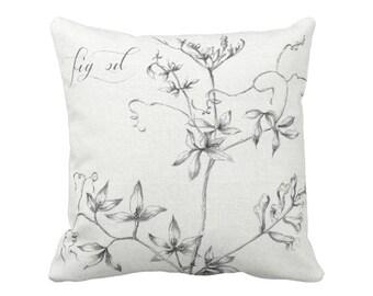 Botanical Pillow Cover Fig. 2D