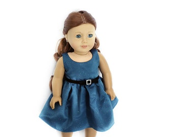 "Evening Glitter Party Dress for 18"" Dolls Such as American Girl"