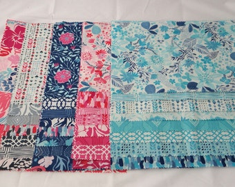 PARADISO Moda Fabric 36 piece sample set Modern quilting sewing cotton maker Kate Spain applique floral scrappy