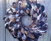 Feather Wreath of Many Colors