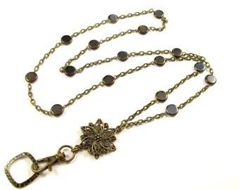 Lanyard, ID Badge Holder, Lanyard Necklace, Necklace Lanyard, Fashion IDLanyard, Breakaway Lanyard, Boho Lanyard, Great Teacher Gift