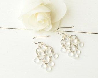 Dripping Diamonds Chandelier Earrings