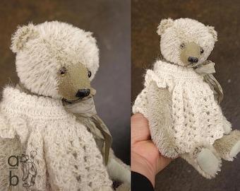 Make Believe Sally, OOAK  Mohair Artist Teddy Bear  from Aerlinn Bears