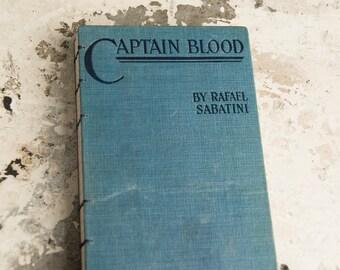 1922 CAPTAIN BLOOD Vintage Lined Notebook Journal