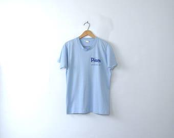 Vintage 80's graphic tee, Prism 1988 cruise shirt, size medium